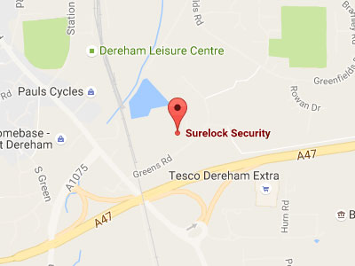 Surelock Security on Google Maps