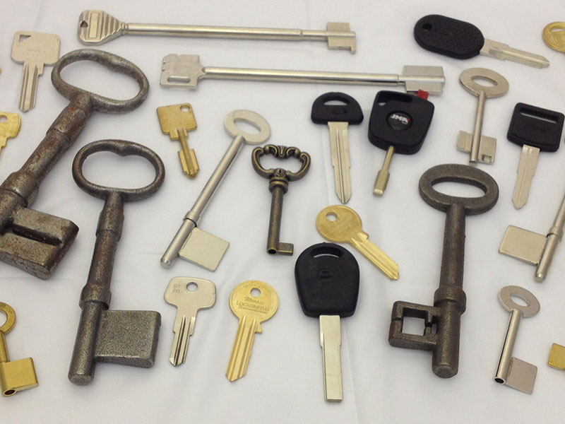 A wide range of Keys Cut